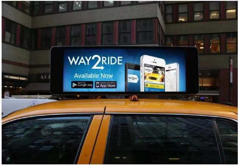 LED Taxi/Car Top Advertising Screen